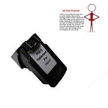 1 шт. BK Реконструированный чернильный картридж PG510 PG-510 PG-510XL для Canon PIXMA IP2700 MP240 MP250 MP260 MP270 MP280 MP480 MP490