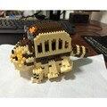 2016 Nueva Totoro Coche Diamond Building Blocks Compatible Con El mi Vecino 3D Ladrillos DIY Juguetes Ensamblar Juguetes Para Los Niños regalo