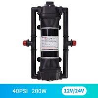 Mini diaphragm pump RV booster pump 12V micro pump washing machine pump yacht marine pump battery car booster pump