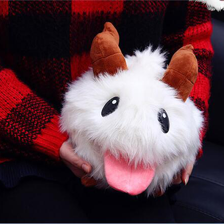 2017 New League of Legends LOL Poro Gooney Plush Stuffed Animal Toys Top Quality Children Toys Kawaii Dolls