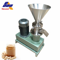 Peanut/milk /nut butter making machine , peanut butter equipment , Industrial peanut butter processing machine