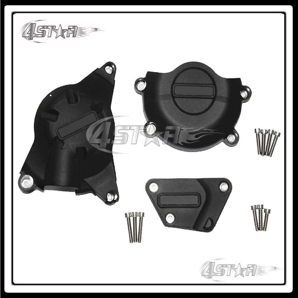 Motorcycle Moto Racing Set Engine Cover Protection Case Kit For YZF R6 2006 2007 2008 2009 2010 2011 2012 2013 2104 2015 motorcycle mounting bracket kit for yamaha fz1 fazer 2006 2015 2007 2008 2009 2010 2011 2012 2013 2014