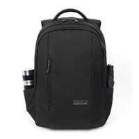 15.6 Студент черный рюкзак для ноутбука Водонепроницаемый школьная сумка дети bookbag нейлоновый рюкзак компьютера дети Back Pack мальчик cartable