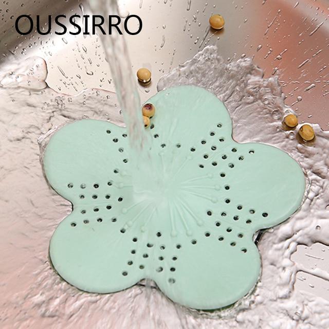 TPR Silicone Bloemvorm Sink Plug Riool Drainage Haar Verstopping ...