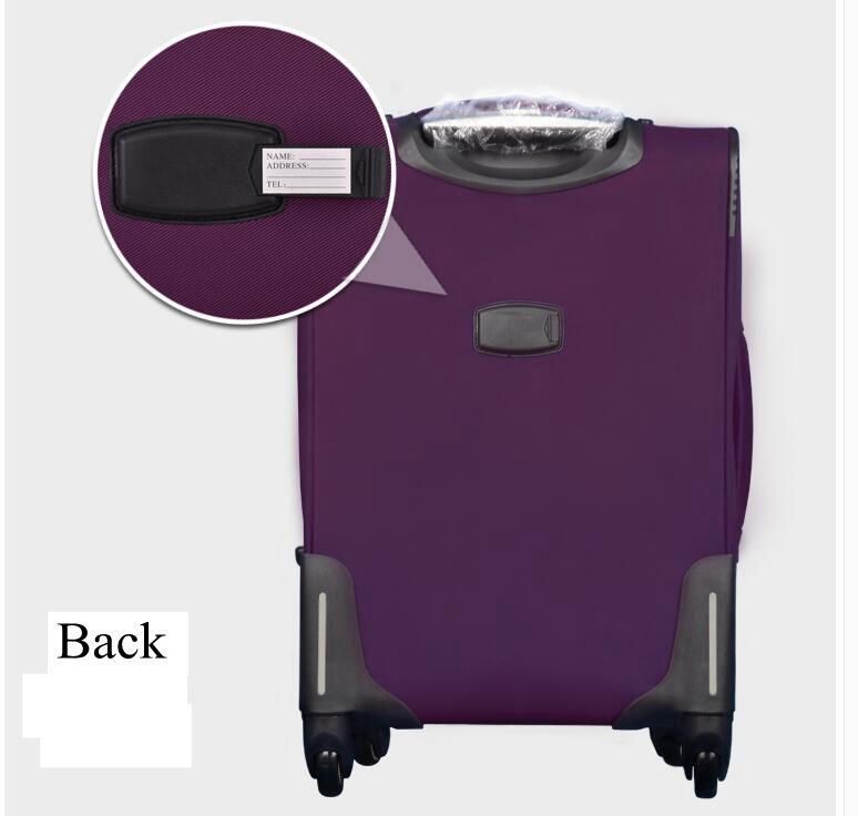 de bagagem de rolamento sobre rodas viagem mala de rodas saco de trole