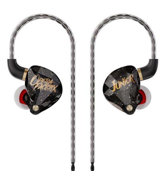 Fone de Ouvido Earplug com Conector Novo Operafactory In-ear Monitor Dinâmico Alta Fidelidade dj Earbud Mmcx Os1