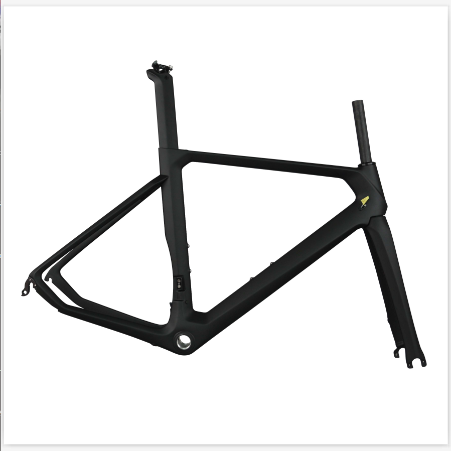 Clearance Frame DI2 Compatible Aviation Road Frame Custom Design Carbon Fiber Bike Frame TT-X11