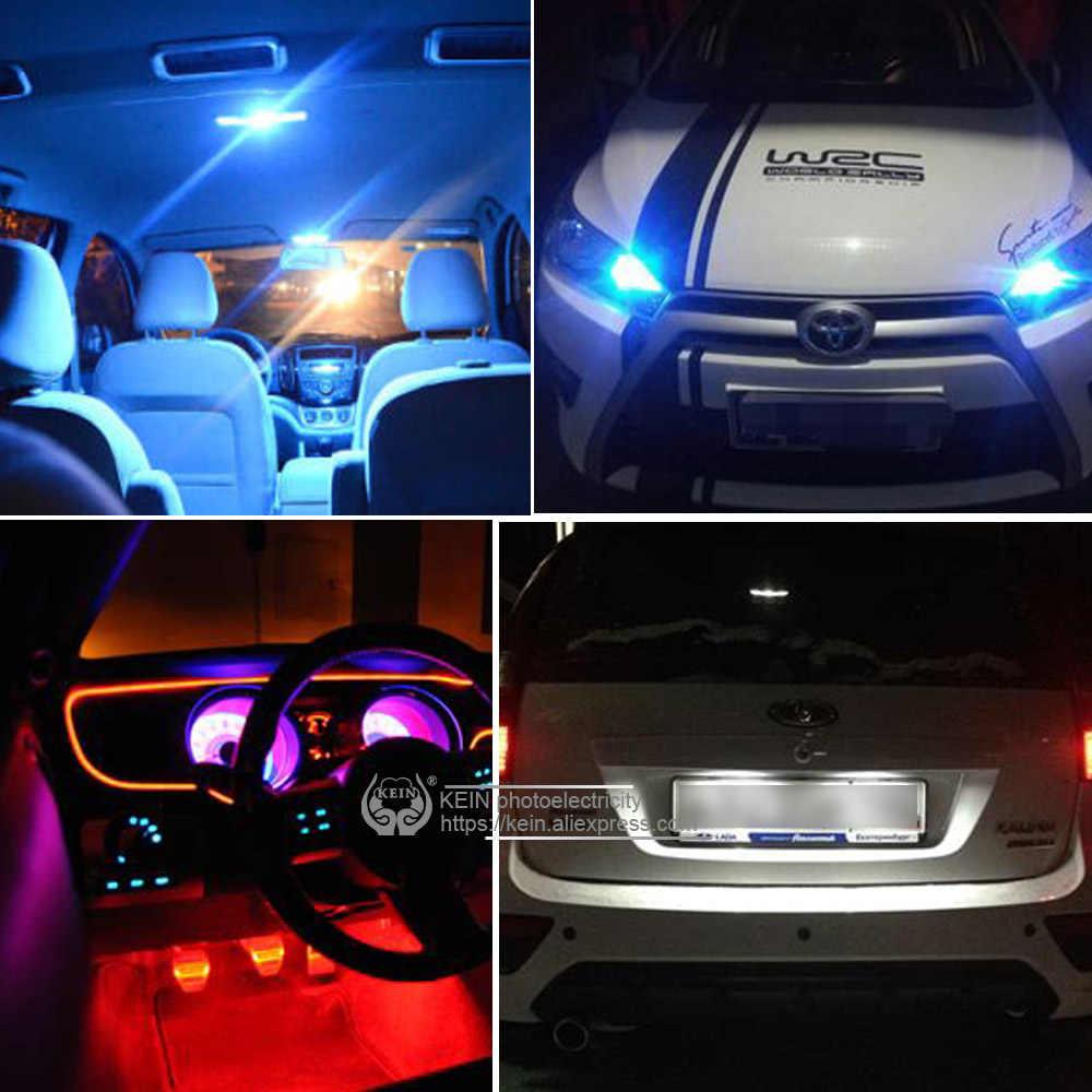 KEIN NOVO W5W T10 led car Bulb 194 led t10 cob 501 168 Interior lâmpada de Iluminação Estacionamento branco azul Do Sinal De Veículo lâmpada auto car styling