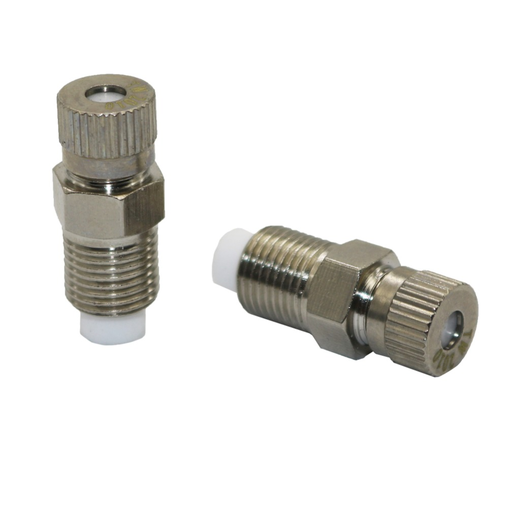 0.1-0.6mm Atomization Nozzle Copper High Pressure Fog Misting Nozzle Greenhouse Irrigation Sprinklers 1 Pcs
