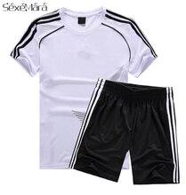 4cc504fead8bf Nuevo 2018 niños kits de fútbol transpirable fútbol moda infantil deportes  trajes niños sistemas de la ropa de fútbol