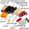 1set 13Pcs Leather Craft Hand Stitching Sewing Tool Thread Awl Waxed Thimble Kit