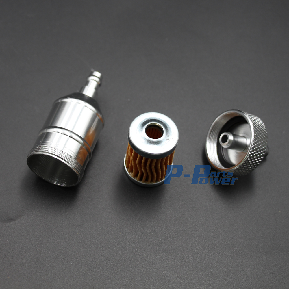 Cnc Gas Fuel Filter For Honda Xr 50 Crf Pit Dirt Bike Atv Bikes Tank Aluminium Silver In From Automobiles Motorcycles On Alibaba