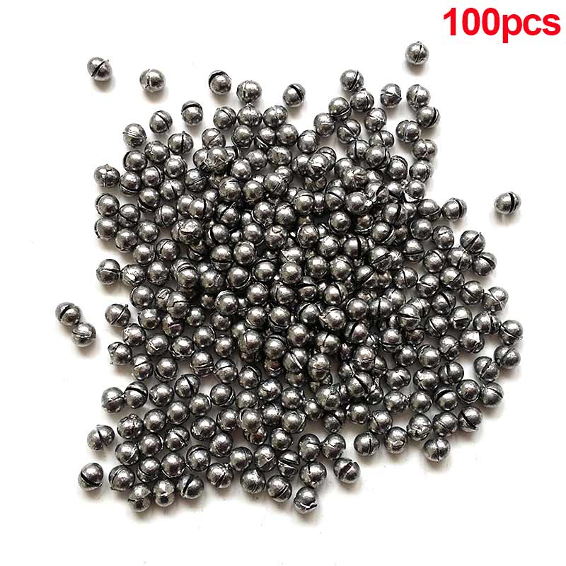 100pcs 0.5g Fishing Weight Fishing Sinker Split Lead Shot Sinker Round Split Shot Dispenser Fishing Tackle Tools 88 s XR-in Fishing Tools from Sports & Entertainment