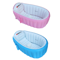 Baby BathTub Inflatable Portable Kids Swimming Pool Child Bathtub Thickening Washbowl Baby Bath for Newborns Swim