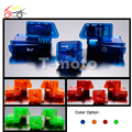 Orange Blue Red Green GY6 50cc 125cc 150cc Moped Scooter Head Light Horn Dimmer Turn Starter Single Switch Button 5 Piece/Set