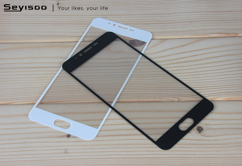 Seyisoo Brand Full Cover Tempered Glass For Meizu M5 (14)
