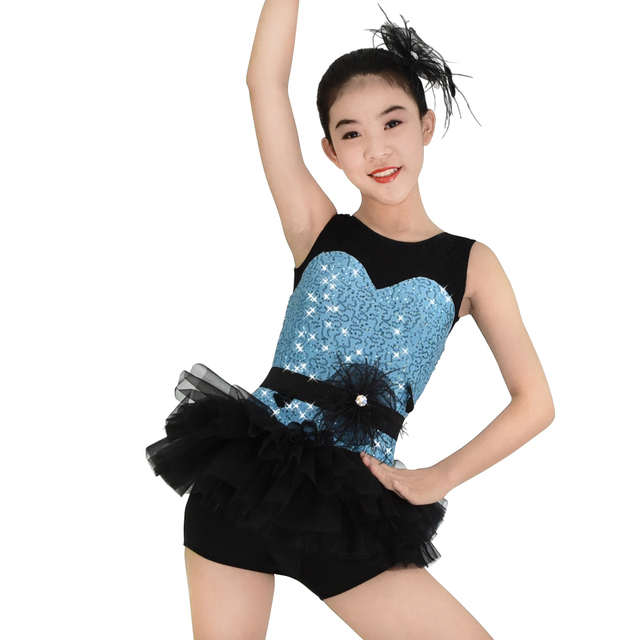 leotard sequins jazz dance costumes hip hop dance costumes