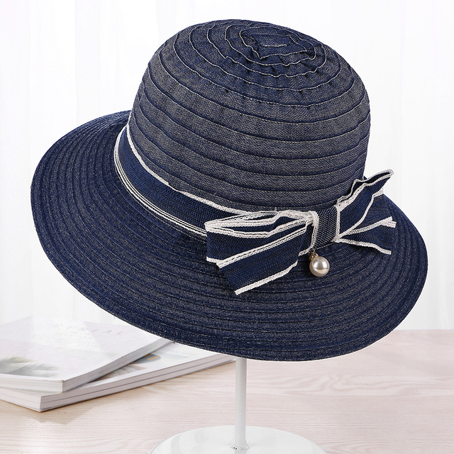 a8ce539ce34 2018 Ladies Summer Hats With Brim New Brand Straw Hats For Women Beach Sun  Hats Sun