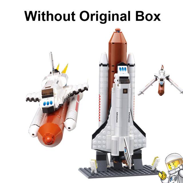 DIY Learning Education Kazi Bricks Space Shuttle Building Blocks High Quality Self-Locking Classic Toys For Children
