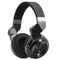 Original Bluedio T2 Bluetooth Stereo Headphones Wireless Bluetooth 4 1 Headset Hurrican Series On The Ear