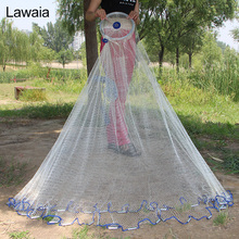 Lawaia Saltwater Casting Net Easy To Hand Throw Fishing Nylon Network Cast
