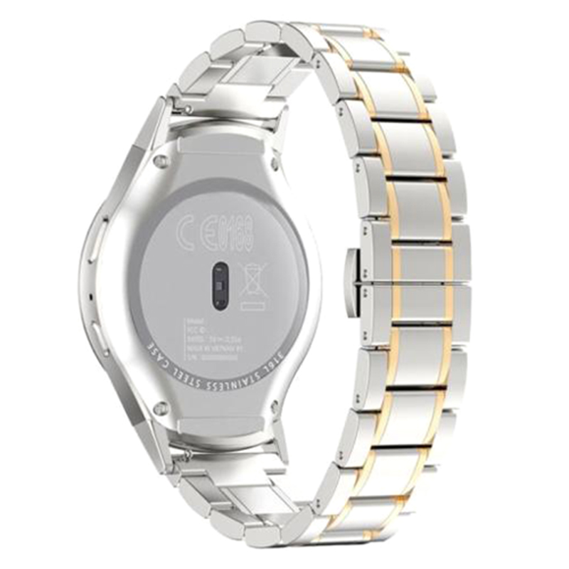 YCYS-For Samsung Gear S2 RM-720 Stainless Steel Luxury Watch Band Strap + Connector Gold ручка дверная противопожарная dh 0433 производитель fuaro купить в перми