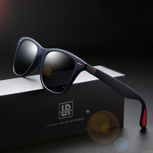 Brand Polarized Sunglasses Men Design Women Square Frame Sun