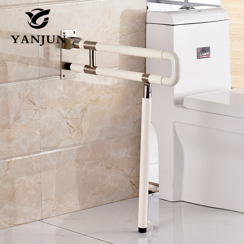 Yanjun Pull Fold Up Grab Bars Platicl Toilet Safety Rail Elderly ...