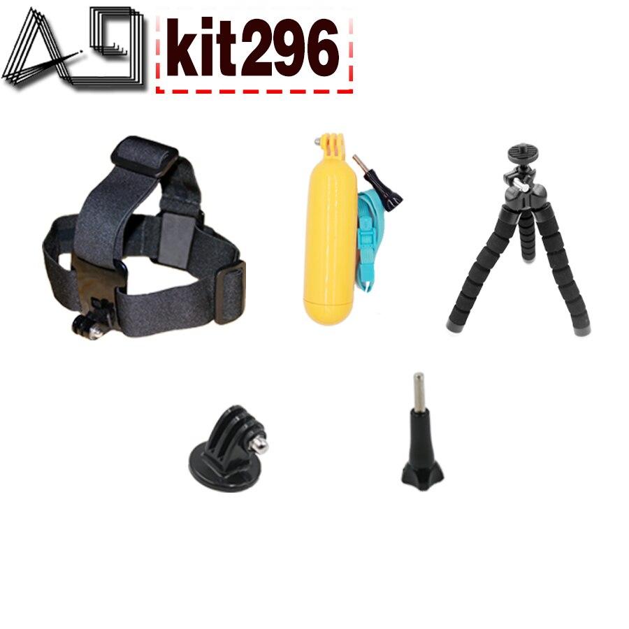 Galleria fotografica A9 For Action camera accessories head strap Tripod floaty bobber for Gopro hero 5 4 3 / xiaomi yi 4K / eken h9 / SJCAM