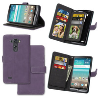 For LG G3 Wallet Case Stand Flip Cover Luxury PU Leather Cases For LG G3 Stand