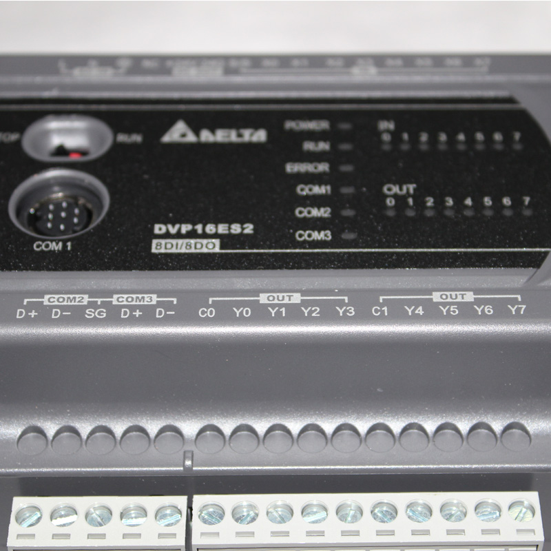 Delta programmable controller DVP ES relay type delta PLC DVP16ES200R PLC