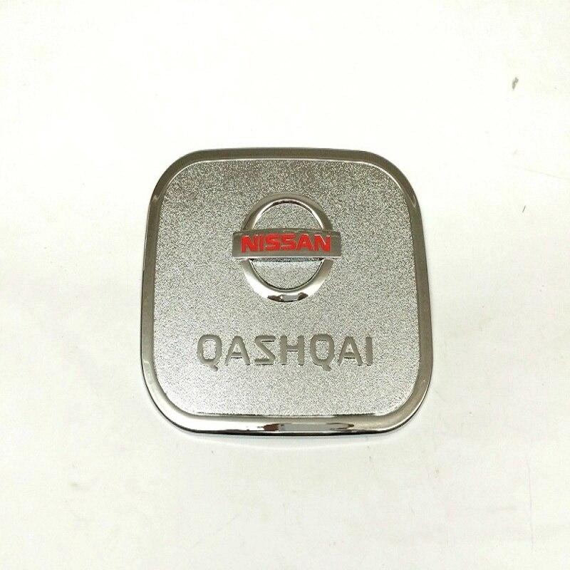 Prix pour ABS Chrome Couvercle Du Réservoir de Carburant/Bouchon Du Réservoir De Gaz Pour 2015 2016 2017 Nissan Qashqai J11 Auto Styling Accessoire
