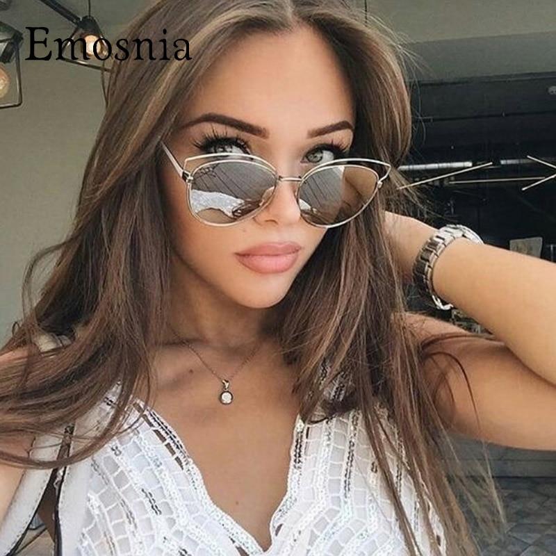 emosnia cateye lunettes de soleil dames de luxe marque. Black Bedroom Furniture Sets. Home Design Ideas