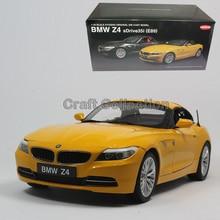 * Black kyosho diecast model car per 1:18 bmw z4 e89 cabrio cabrio 35i veicolo di lusso