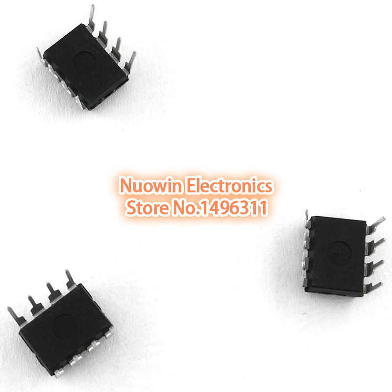 10 unids/lote nueva NE555 NE555P NE555N 555 temporizadores DIP-8