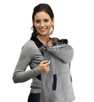Зима кенгуру плащ ветрозащитная одежде удобные теплые слинг мантии бесплатная доставка # 013
