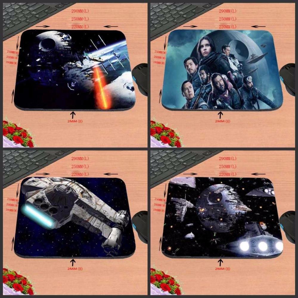 Mairuige ПОСТУПЛЕНИЯ DIY роскошные печати Customzied Звездные войны Дизайн Резиновые Gaming Мышь коврик Дизайн для PC оптическая Мышь трекбол