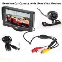 480x234 4.3 Inch TFT LCD Rear View Monitor Pocket sized Rear View Monitor with 2 channel Video Input