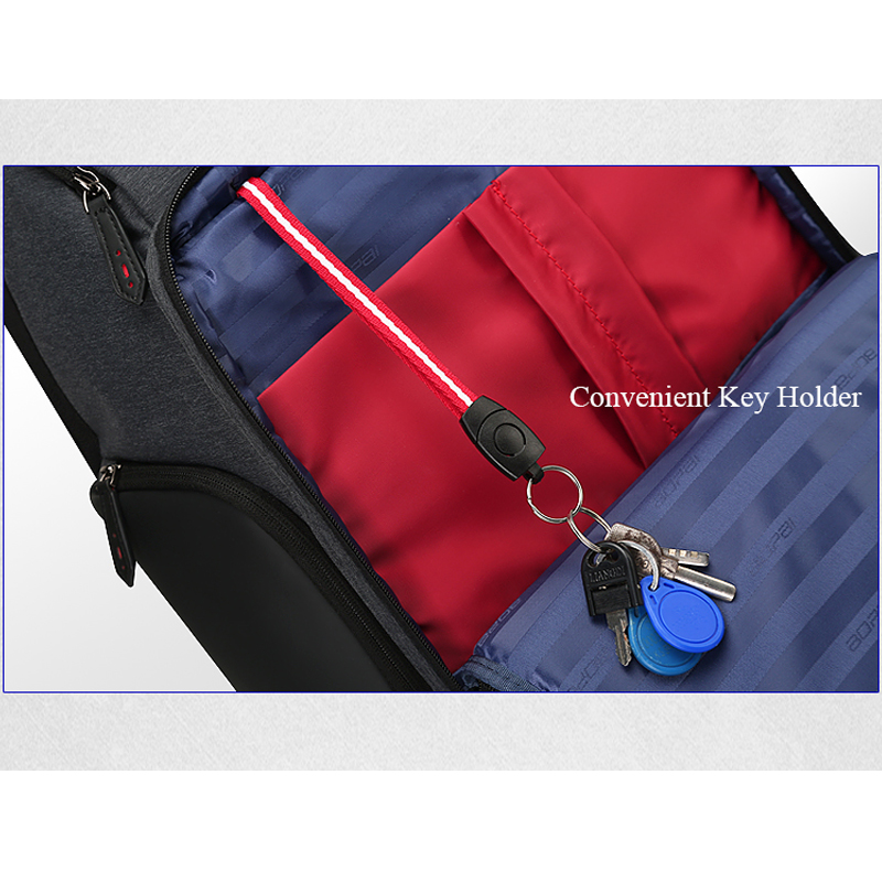 Mochila De Viaje Unisex para mujer, mochila de hombre, mochila de viaje de negocios, antirrobo, mochila grande para ordenador portátil de 17 pulgadas - 4