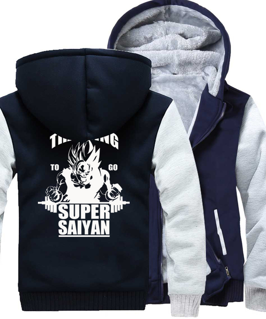 TRAINING TO GO SUPER SAIYAN (7 COLORS)