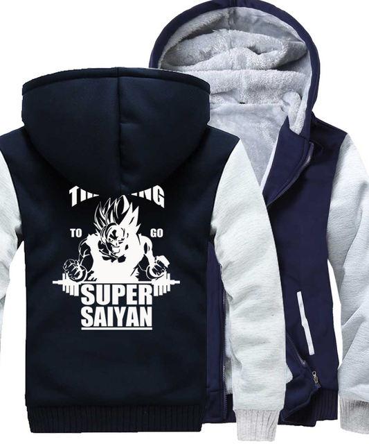 TRAINING TO GO SUPER SAIYAN (7 COLORS)
