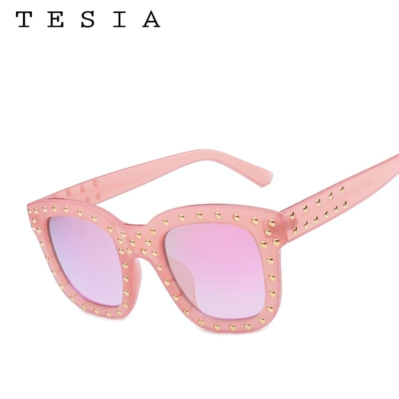 TESIA Neuzugang Hochwertige verspiegelte Sonnenbrille Square Schöne - Bekleidungszubehör