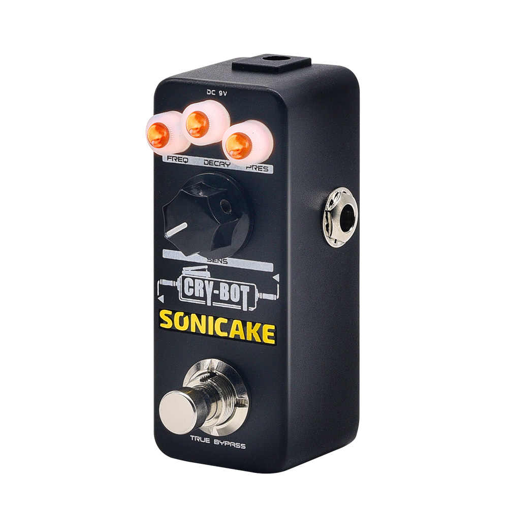 SONICAKE New Arrival Unit Cry Bot Auto wah Envelope Filter Guitar Effects Wah Pedal for that