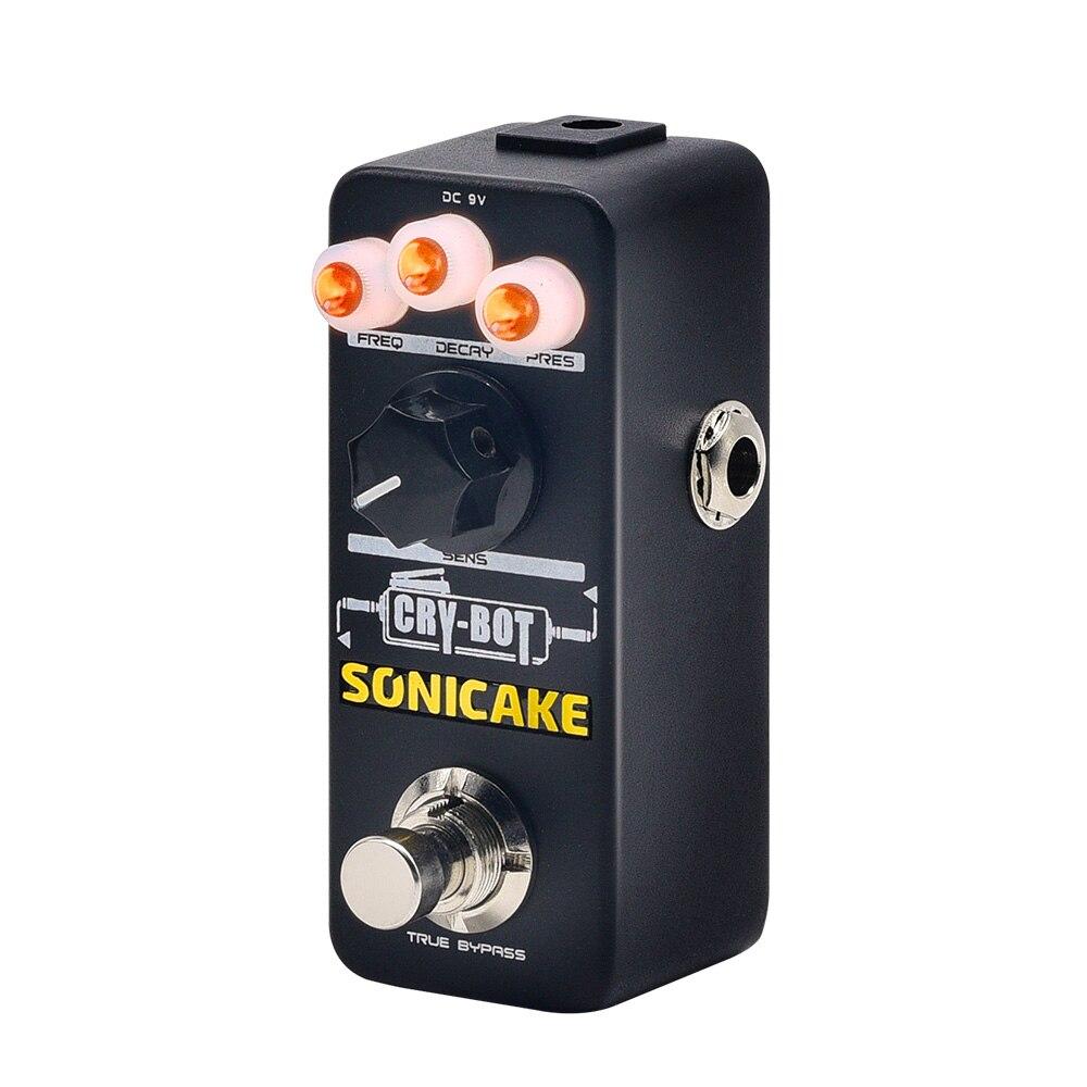 SONICAKE Neue Ankunft Einheit Cry-Bot Auto-wah Umschlag Filter Gitarre Effekte Wah Pedal für, dass Funky Mojo USA UK Verschiffen QSS-07