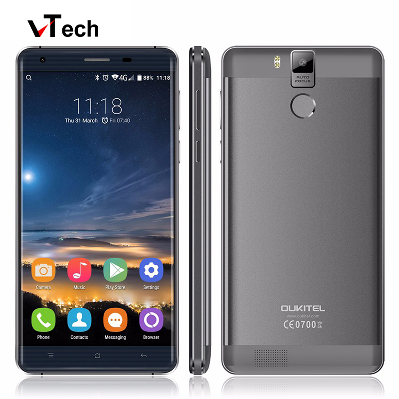 2016 Newest Original Oukitel K6000 Pro 4G LTE Mobile Phone Octa Core 5 5 1920x1080 3GB