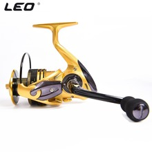 цены Metal Wire Rocker Arm Without Gap Fishing Spinning Reel 13+1BB Aluminum Saltwater Sea Fishing Reels Max 20KG Coil Boat Wheel L30