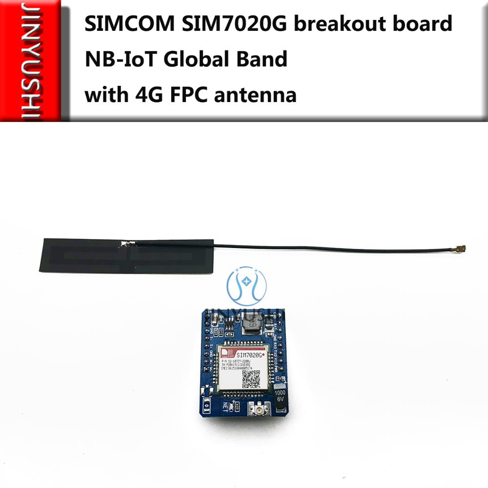 SIMCOM SIM7020G Breakout Board NB-IoT Global Band SIM7020E Mini Core Board  Instead SIM800C Development Board+ FPC Antenna