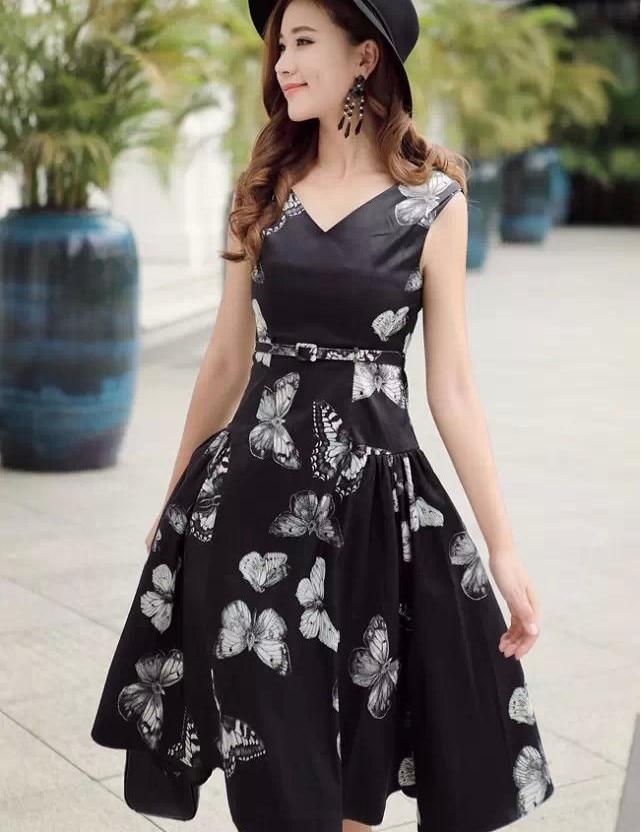 Popular Black Dinner Dress-Buy Cheap Black Dinner Dress lots from ...
