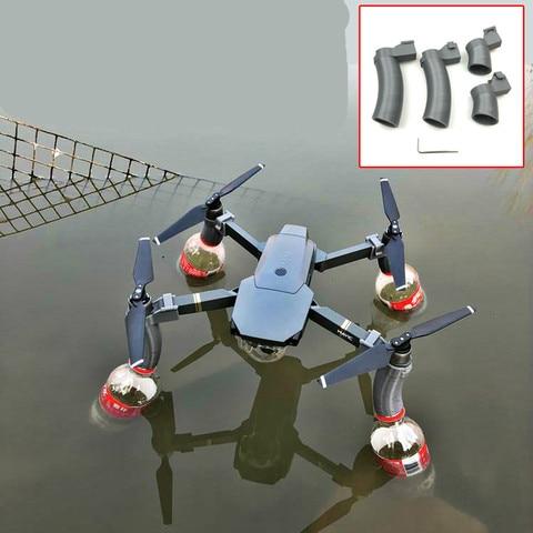 Trem de Pouso Protetor de Aumentar a Flutuabilidade Combinação à Prova Água para Dji Suporte Mavic Drone Acessórios Pró d'