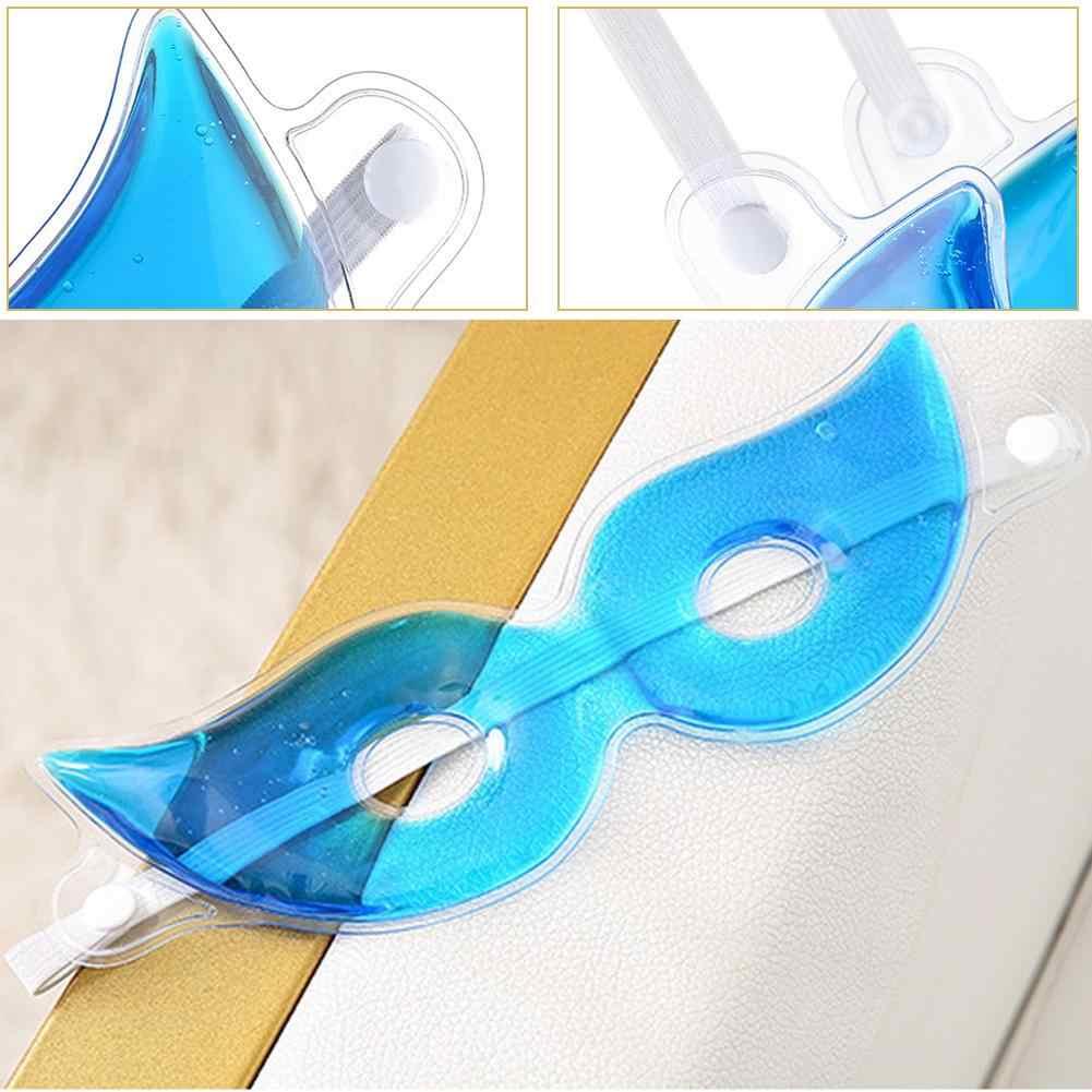 เจลหน้ากาก Cold Reusable สำหรับบำบัดผ่อนคลายการบีบอัดสำหรับ Puffy แห้งตาสีเข้มบรรเทาภูมิแพ้ sleepi